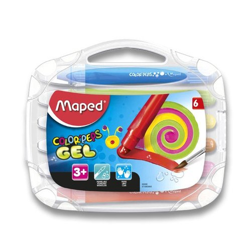 Maped Gelové pastely Color'Peps Gel - 6 barev