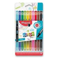 Maped Liner Graph´Peps Deco sada 10 barev