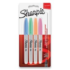 Sharpie Permanentní popisovač  Fine sada 4 ks, pastelové barvy