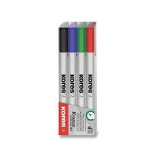 Kores Sada popisovačů  K-Marker W1 sada 4 barev