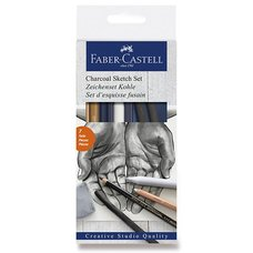 Faber-Castell Umělecká sada Goldfaber Charcoal Sketch sada 7 kusů