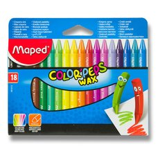 Voskovky Maped Color'Peps Wax - 18 barev