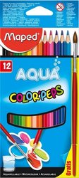 Pastelky Color Peps Aqua 12ks + štětec