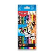 Pastelky Maped Color´Peps Animals - 12 barev