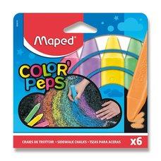 Maped Křídy na chodník 6 barvy