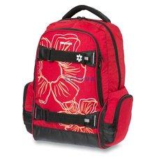 Školní batoh Walker Fun Flower - červený