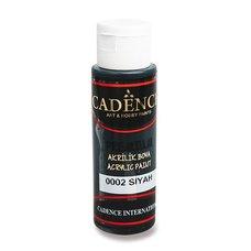 Cadence Akrylové barvy Premium černá