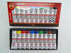 Barvy akrylové 40 ml