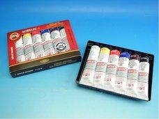Souprava akrylových barev 1627 6x40ml