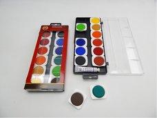 Barvy vodové umělecké transparentní