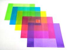 Obal na žákovskou knížku barevný