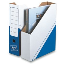 Magazin box Hit Office - archivační box, 75 mm, modrý