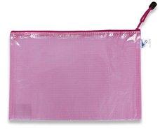 Plastová obálka - A4 - růžová