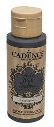 Barva na textil Cadence Style Matt Fabric, mat. černá, 59 ml
