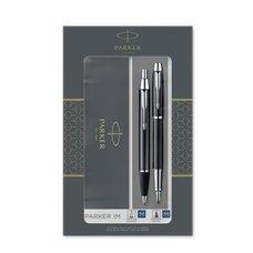 Parker IM Black CT sada plnicí pero a kuličková tužka