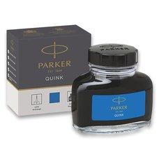 Parker Lahvičkový inkoust , omyvatelný modrý