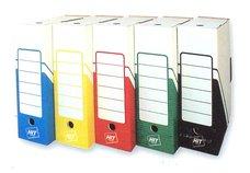 Archivní krabice červená 10 x 33 x 24,5 cm