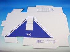 Archivní krabice modrá 10 x 33 x 24,5 cm