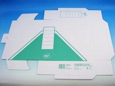 Archivní krabice zelená 10 x 33 x 24,5 cm