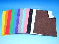Velur papír fialový A4