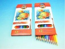 Pastelky akvarelové RYBY 3716/12