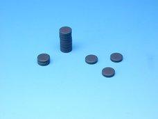 Magnet šedý průměr 2 cm