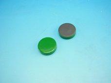 Magnet zelený průměr 2 cm