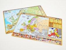 Tabulka Evropa  A4