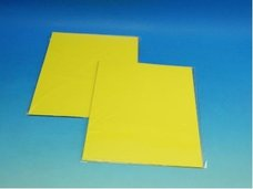 Barevný karton světle žlutý 160g 10ks