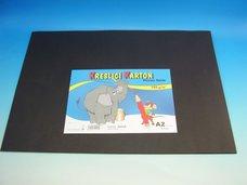 Kreslící karton A2/10 ks černý 180 g