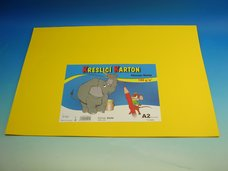 Kreslící karton A2/10 ks žlutá 180 g