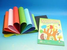 Blok barevných papírů A4 130 g/20 listů