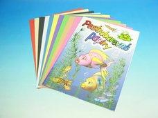 Složka barevných papírů 20 listů