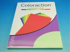 Kancelářský papír A4/100ks pastelově zelený 80g