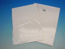 Kreativní papír MOHAWK via laid, bílý