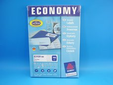 Etikety ECONOMY 105 x 70 mm bílé