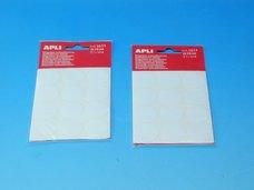 Etikety APLI pr.25mm bílé