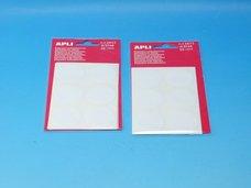 Etikety APLI pr.32mm bílé