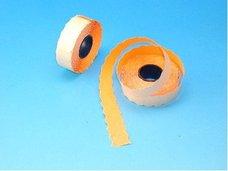 Cenové etikety 22x12 oranžové CONTACT