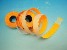 Cenové etikety 26 x 12 UNI signální oranžová