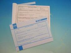 Cestovní příkaz A5 100 listů