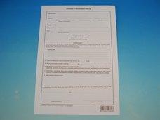 Dohoda o provedení práce A4