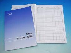 Kniha evidence klíčů A4