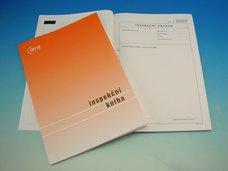Inspekční kniha A4 OP1257