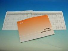 Poštovní podací kniha A4 80 listů