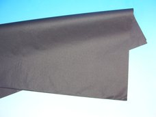Papír hedvábný černý 50 x 70 cm, 19 g, arch