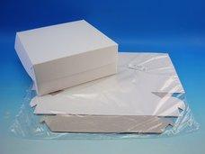 Dortová krabice 220 x 220 x 90 mm, 3 ks