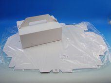 Zákusková krabice 270 x 180 x 100 mm, 3 ks