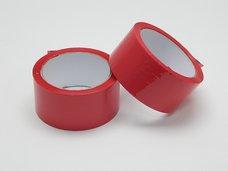Páska lepící 48x66m červená PF
