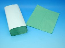 Papírové ručníky ZELENÉ